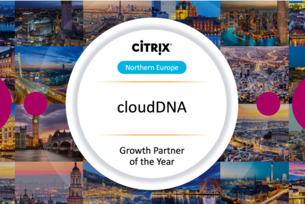 cloudDNA Wins Citrix Northern Europe Growth Partner of the Year