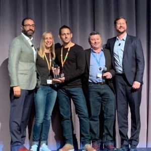 cloudDNA awarded Growth Partner of the Year Northern EMEA 2018